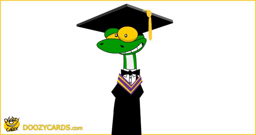 Gecko Graduation