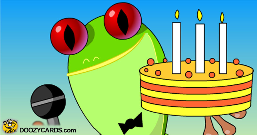Ribbit Birthday Song