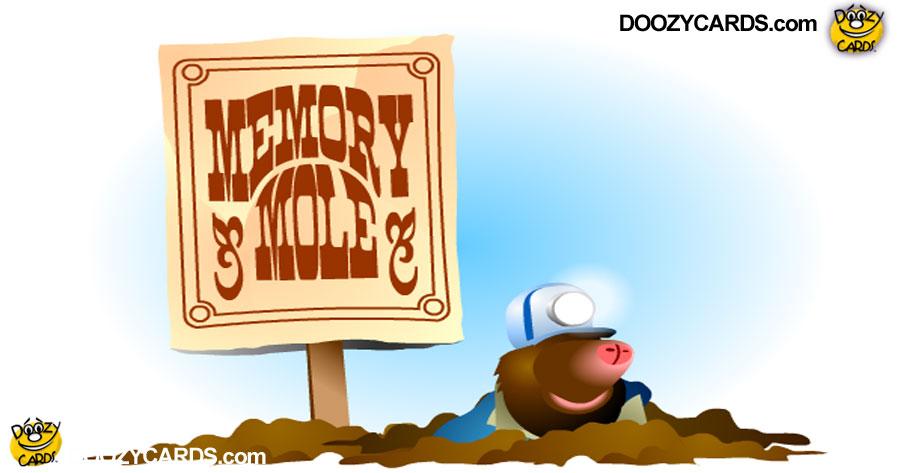 Memory Mole Game