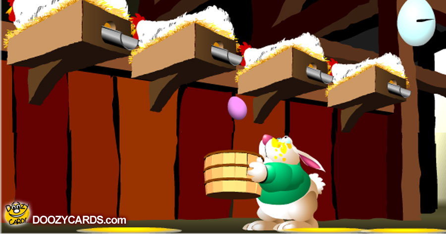 Bunny Egg Catch