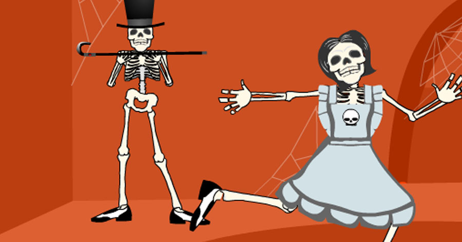Skeleton Tap Dance