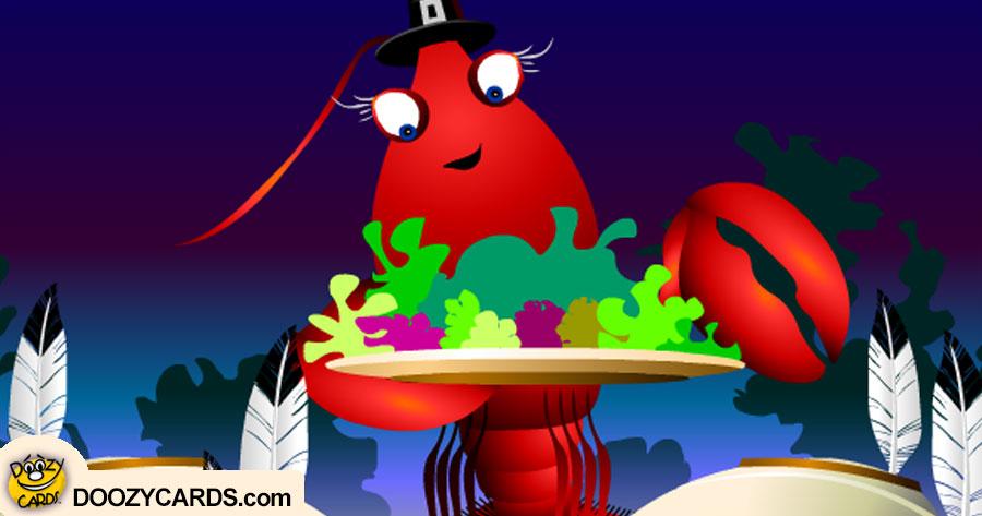 Larry Lobster Thanksgiving