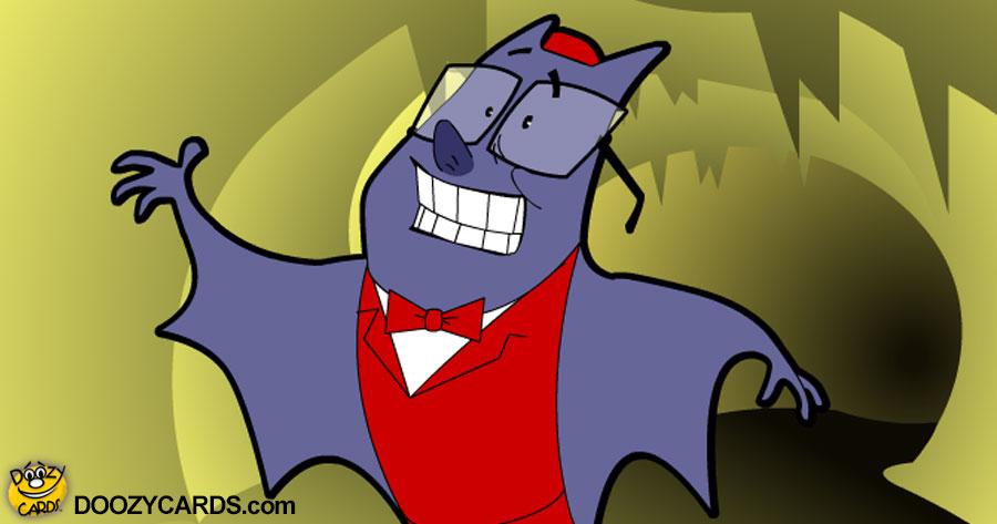 Batty Singing Telegram Ecard