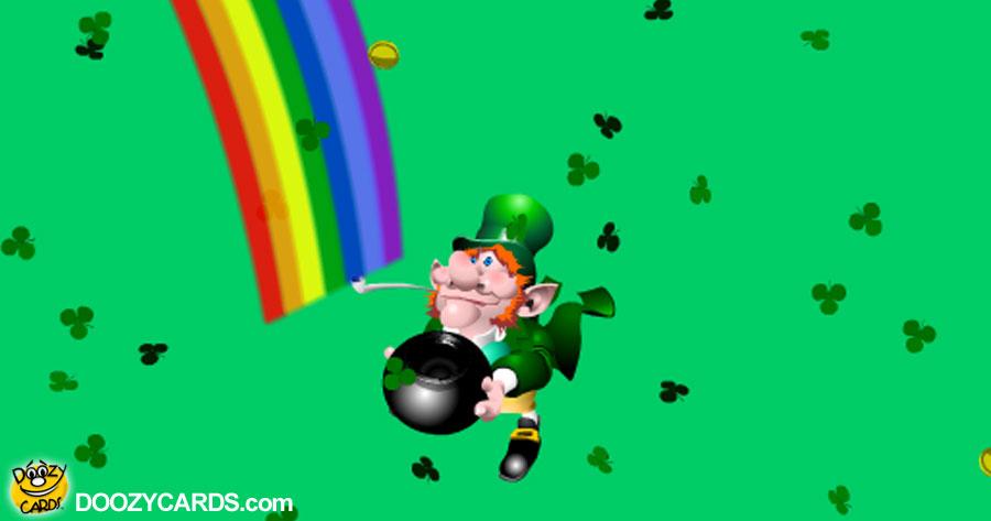Leprechaun Game e-card