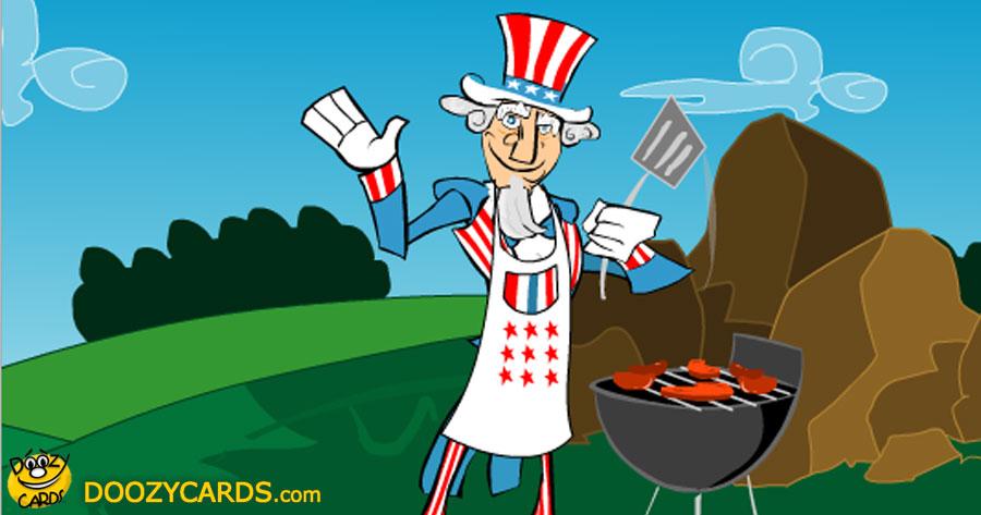 Uncle Sam July 4th Surprise