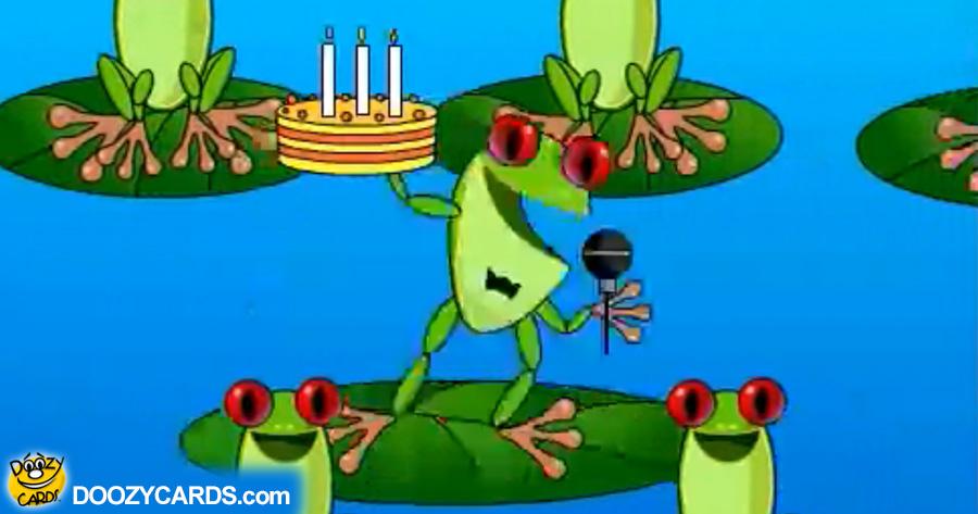 Birthday Cake Invitation e-card