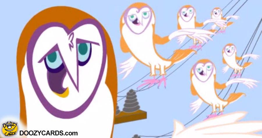 Gospel Owl Birthday