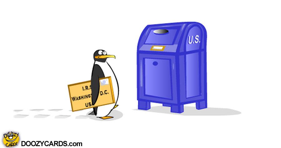 Penguin Tax e-card