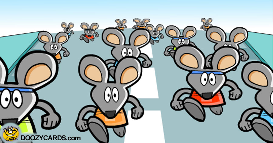 Rat Race Congratulations on your Promotion
