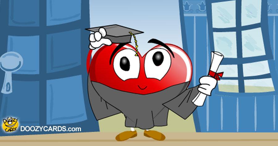 Heartfelt Graduate Hug