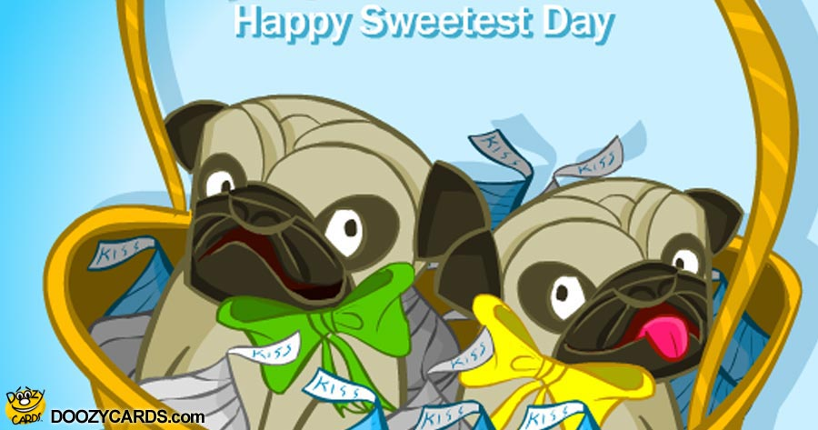 Pugs & Kisses for Sweetest Day