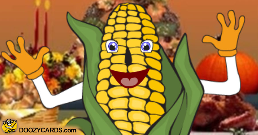 Talking Corn e card