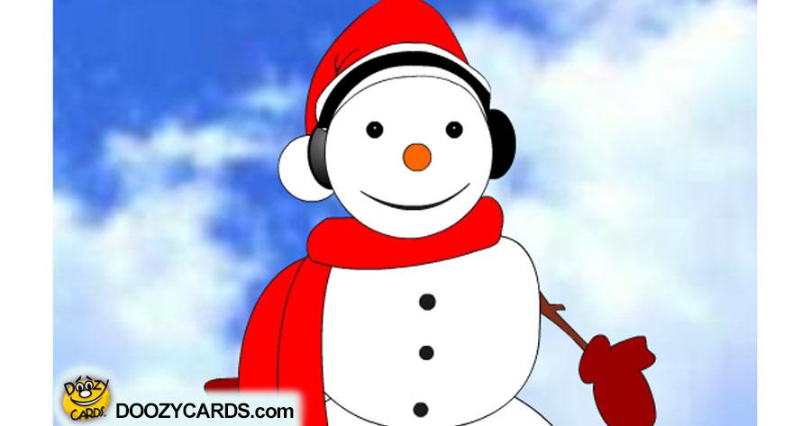 Talking Snowman