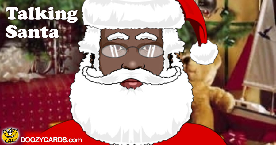 Talking Santa (Personalize)