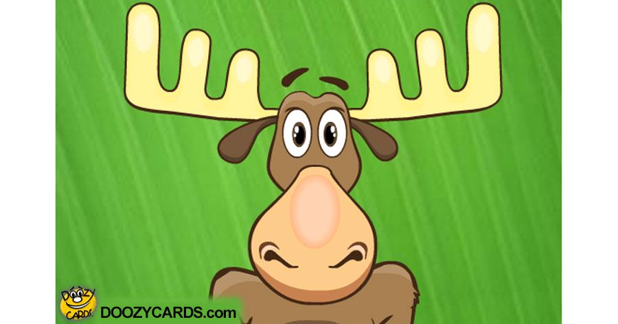 Talking Moose Ecard (Personalize)