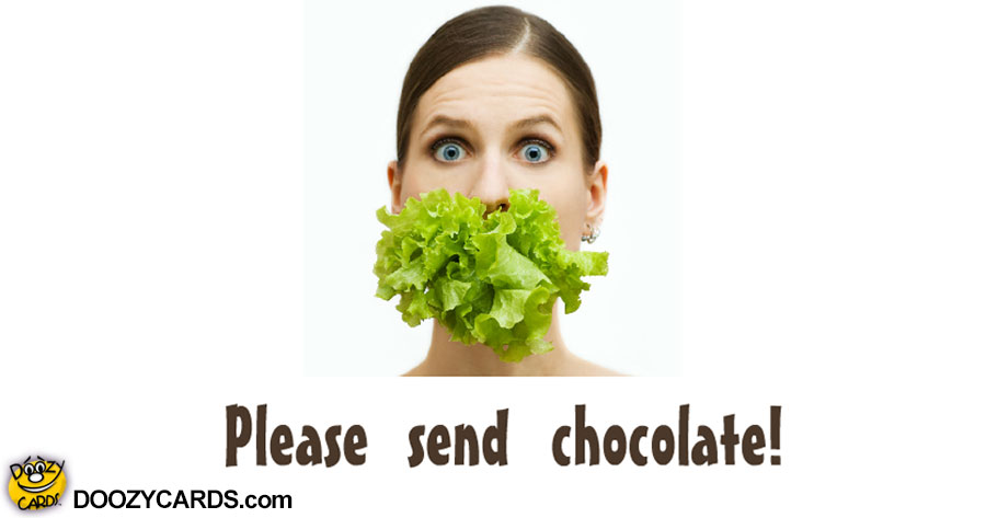 Send Chocolate ecard