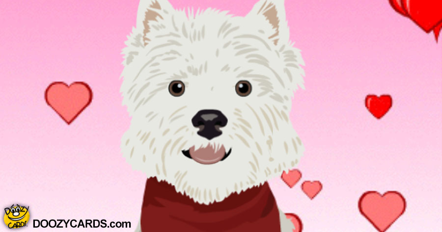 Talking Puppy Hugs & Kisses (Personalize)