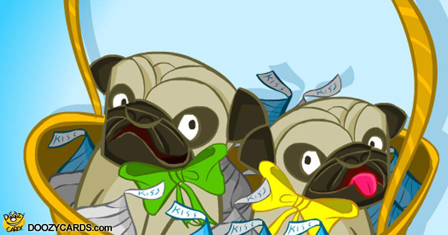 Pugs and Kisses Grandparent's Day
