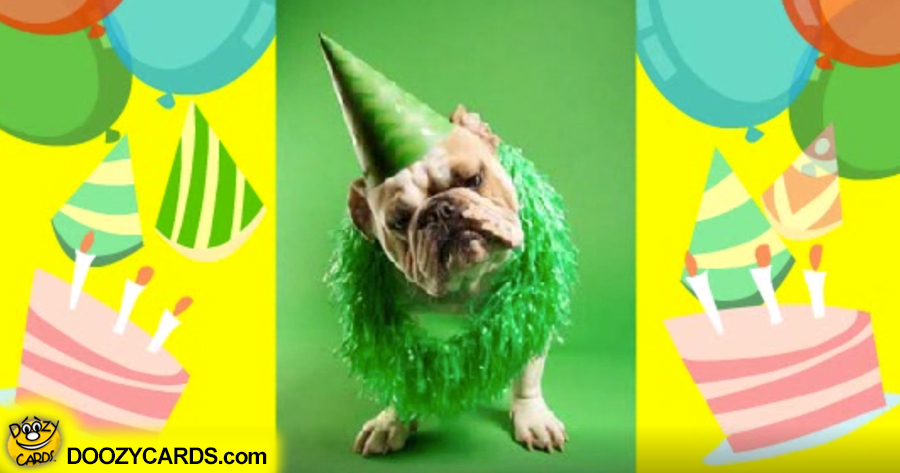Birthday Doggies e card