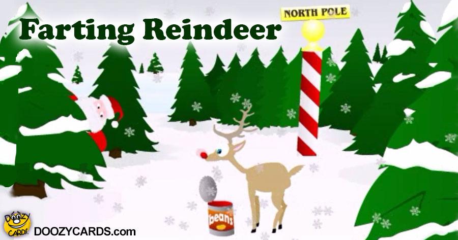 Farting Reindeer