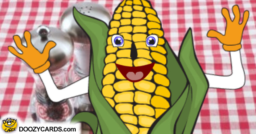 Talking Corn on the Cob (Personalize)