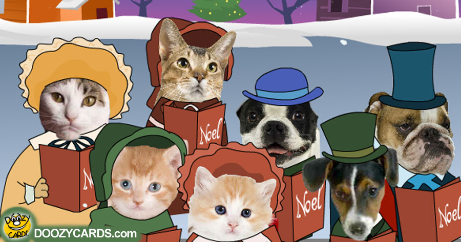 Dog and Cat Carolers