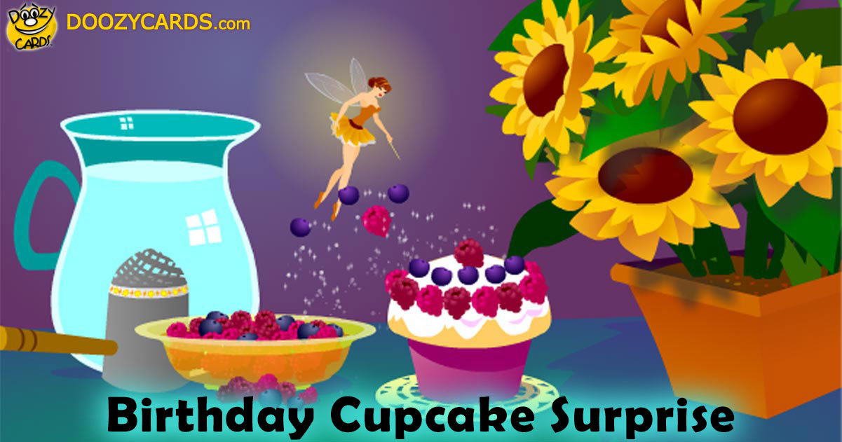 Birthday Cupcake Surprise