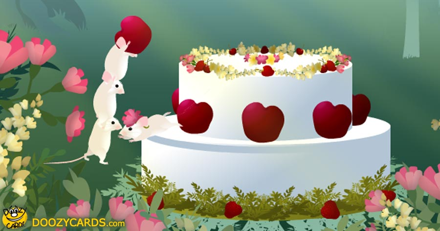 Birthday Cake E Card