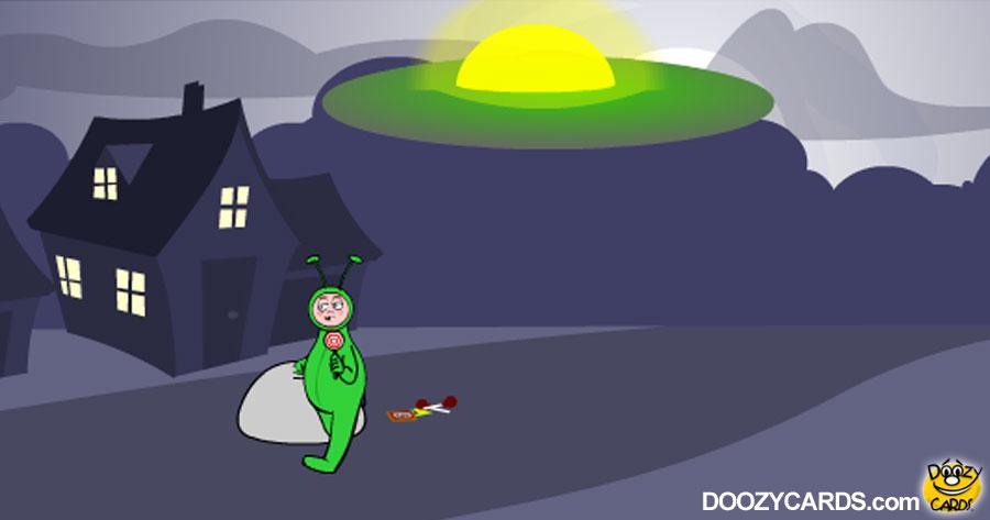 Halloween Aliens