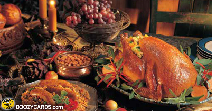 Thanksgiving Warm Wishes