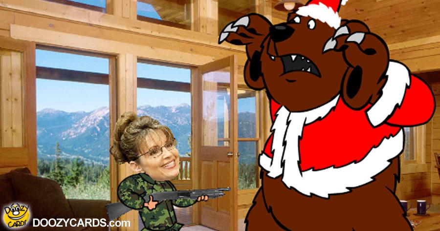 Sarah Palin's Christmas ecard