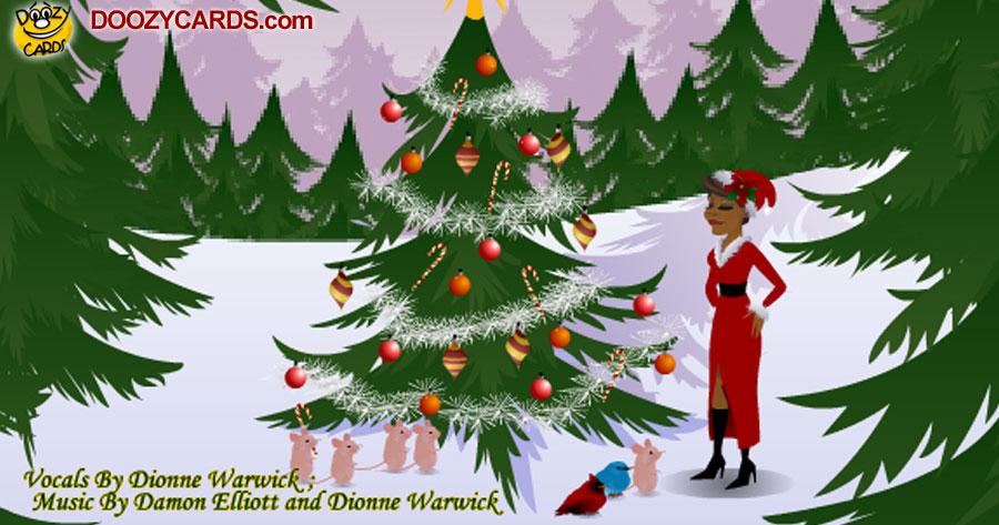 Dionne Warwick's Christmas Card