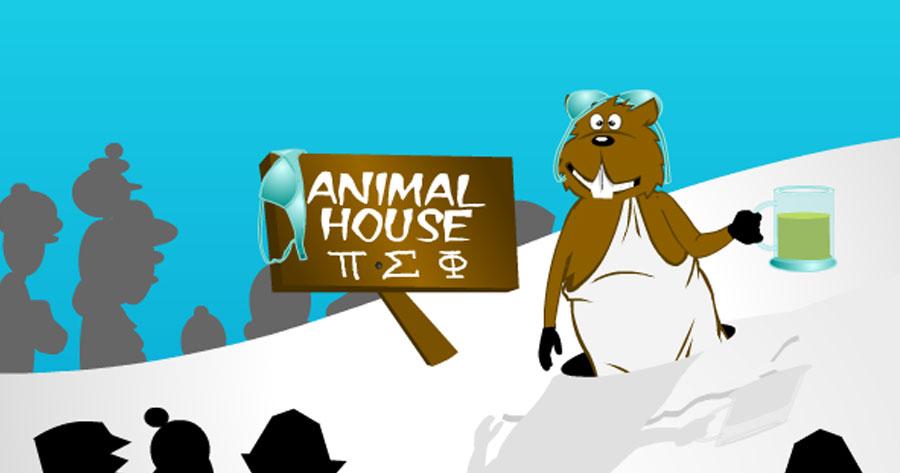 Groundhog Frat House