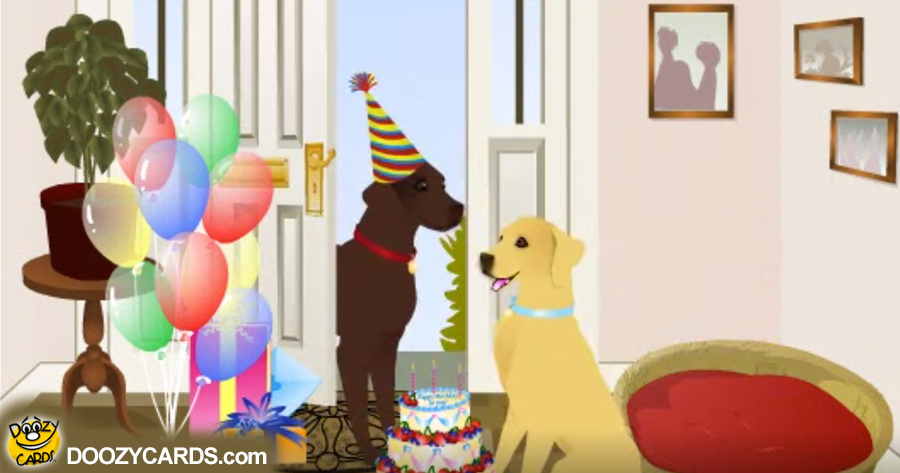 Birthday Pups