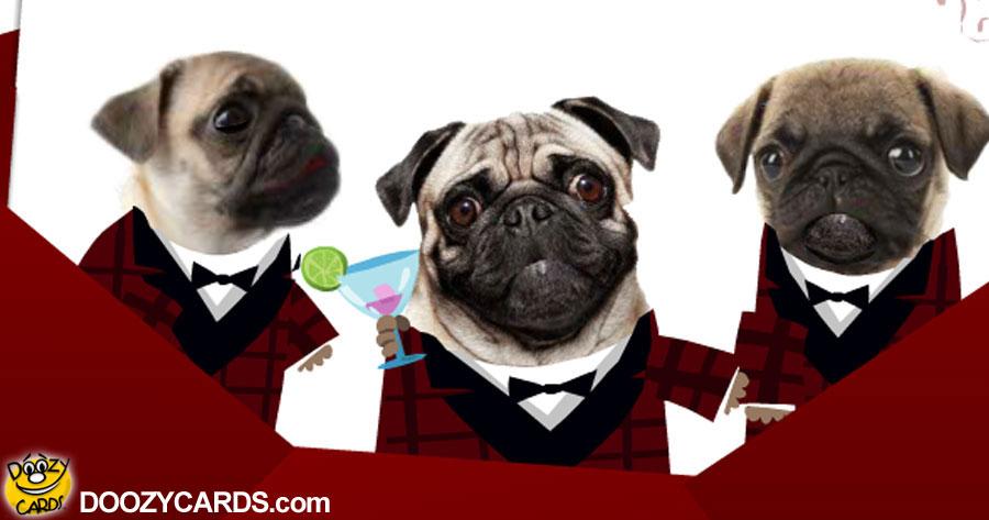 Pugs Doo Wop Happy We're Together