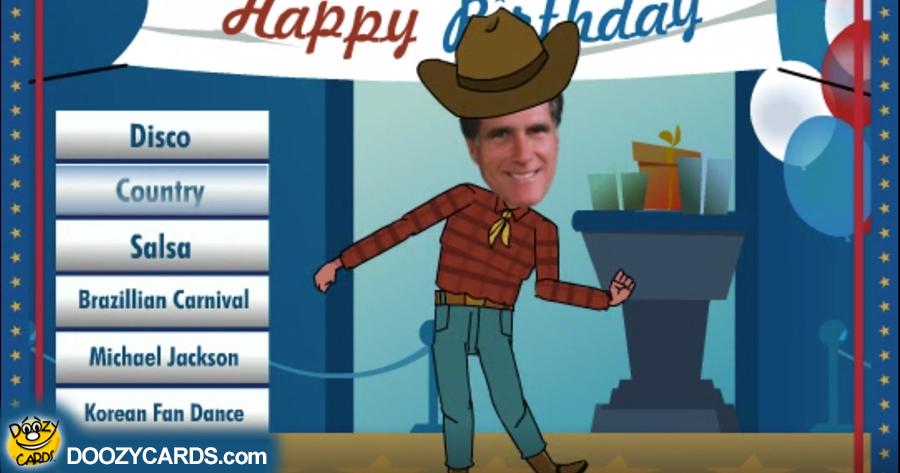 Dancing Mitt Romney