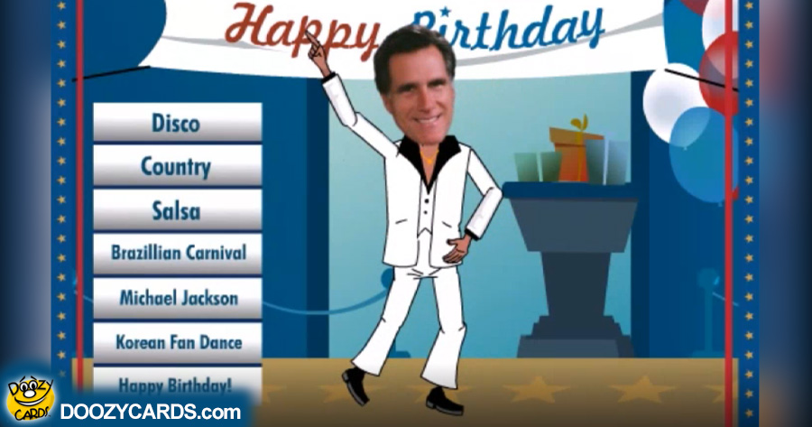 Dancing 50th Bday Romney