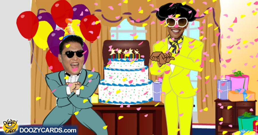 Gangnum Style Birthday