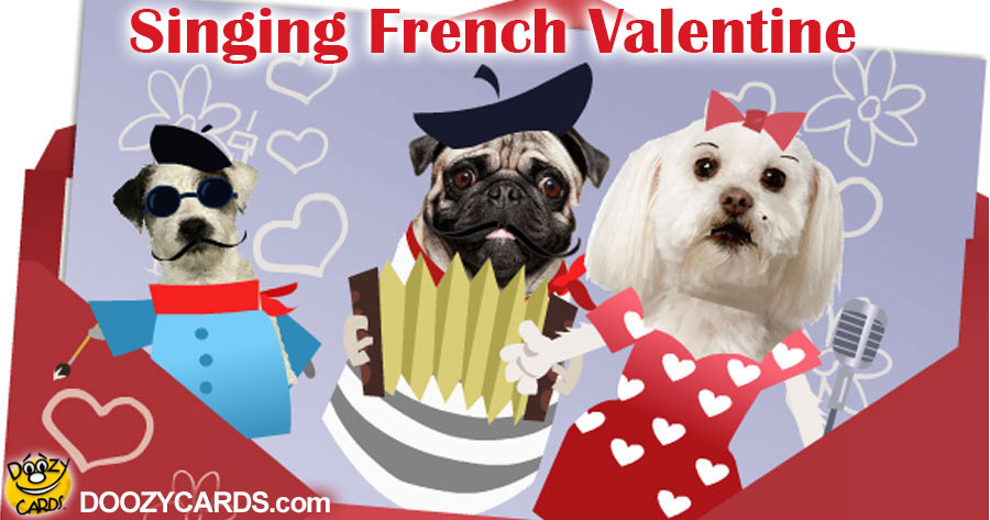Singing French Valentine