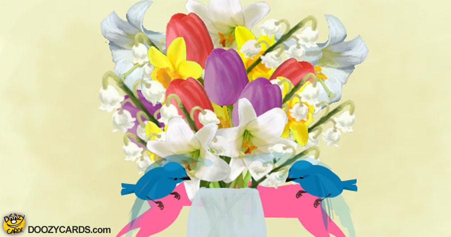 Easter Bluebirds
