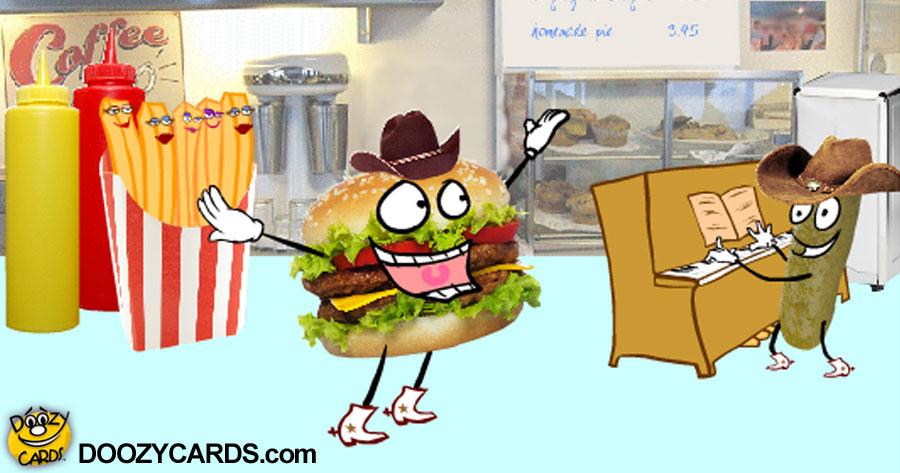 Honky Tonk Hamburger for Son