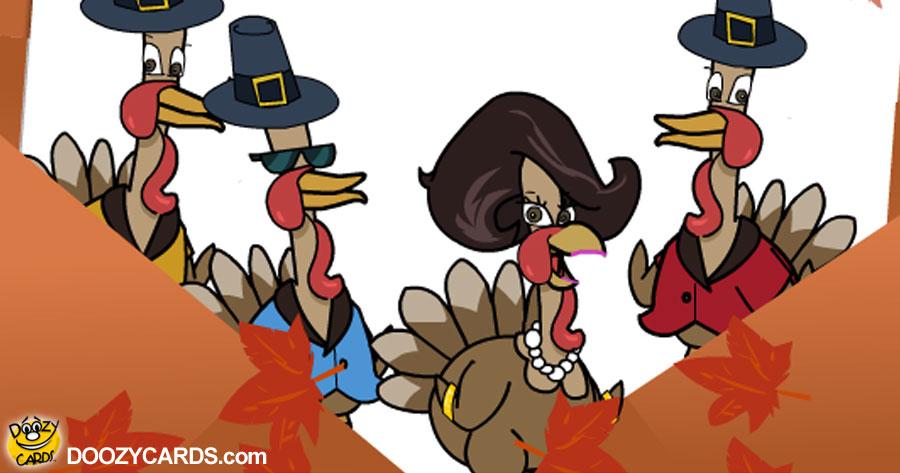 Doo Wop Turkeys