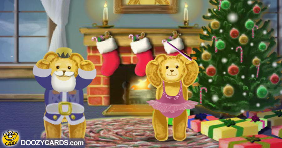 Teddy Bear Christmas for Mom