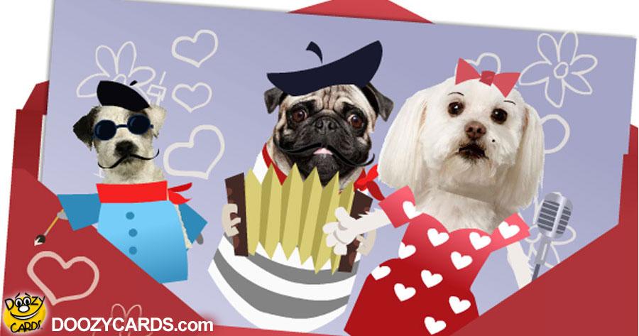 French Doggies for Boyfriend