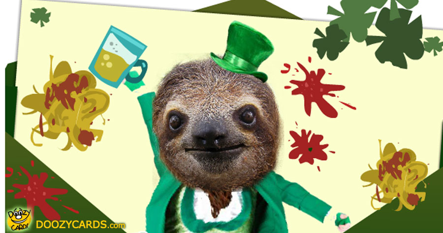 Singing Leprechaun Sloth