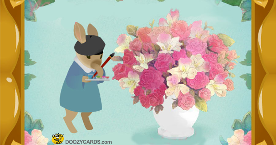 Bunny Bouquet New Baby