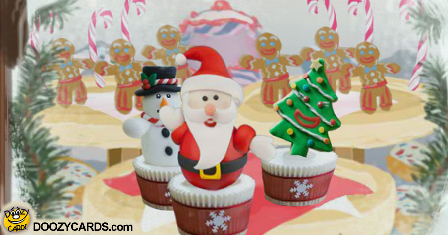 Singing Christmas Sweets for Dad