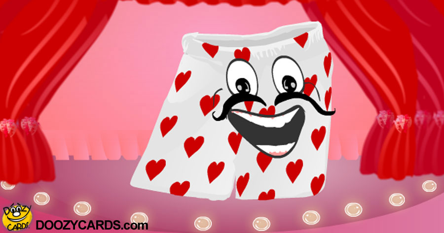 Singing Valentine Boxer Shorts