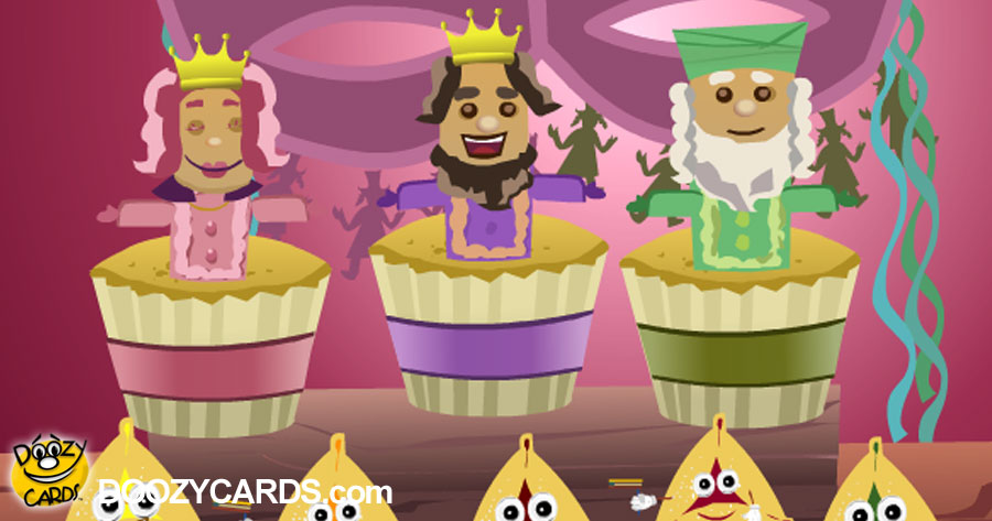 Singing Purim Cupcakes