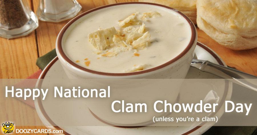 Clam Chowder Day